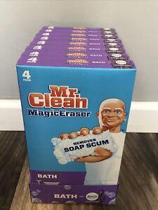 Mr. Clean Magic Eraser Bath Scrubber Soap Scum Remover 32 Count Lavender Scent