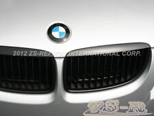 2005-2008 BMW E90 320i 323i 328i 335i 4Dr Front Hood Matte Black Grille