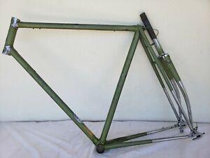 Vintage Raleigh Racing Bike Frame 56cm + Reynolds 531 Tube & Campagnolo dropouts