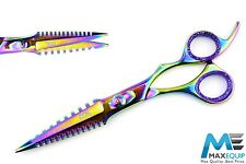 "Professional 6.5"" Hairdressing Barber Scissors EXCLUSIVE Shears/Thinning 2 IN 1"