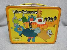 1968 The BEATLES  YELLOW SUBMARINE  LUNCHBOX by Thermos Rock & Roll Movie  C#7.5