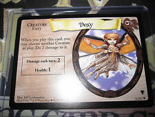 HARRY POTTER TRADING CARD GAME TCG QUIDDITCH CUP DOXY 36/80 UNCO ENGLISH MINT