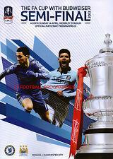* 2013 FA CUP SEMI-FINAL - MANCHESTER CITY v CHELSEA *