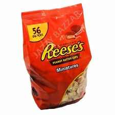 Reese's Peanut Butter Cups 1.58Kg Reeses Buttercup Milk Chocolate Miniature Bag