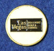 """RARE_  Las Vegas Discount Golf & Tennis   1"""" Golf Ball Marker"""