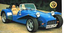 CATERHAM SUPER 7 SEVEN HPC SPEC SHEET/Brochure:1992,1993,1994,1995,.......