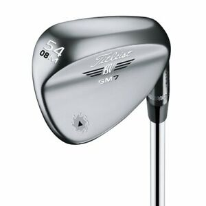 New Titleist SM7 Wedge - Choose Loft / Bounce / SM-7 Chrome/Brushed Steel/Black