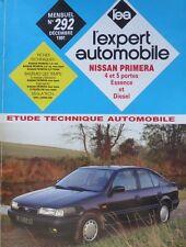 Revue technique NISSAN PRIMERA 1.6 + 2.0 essence +  diesel EXPERT RTA 292 1991