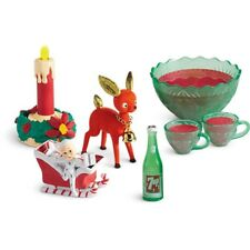 """American Girl MARYELLEN PARTY PUNCH SET for 18"""" Dolls NEW Christmas Food"""