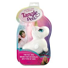 As Seen on TV Tangle Unicorn Pet Hair Brush -New in Package