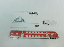 AI478-0,1# Märklin H0 Anweisung+Zurüstteile Dampflok 3387 Glaskasten BR 98