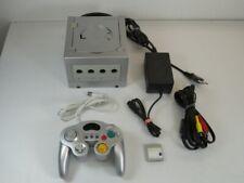 !!! NINTENDO GAMECUBE Konsole silber + Controller + Memory GUT/OK  !!!