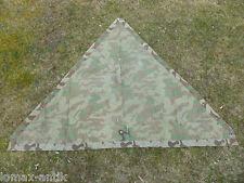 WW2 Wehrmacht Tarn Zeltplane Zeltbahn Spätkrieg RBNR. tent shelter #03-09