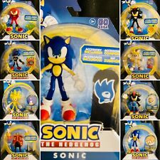 🔥*New Added* 2020 Sonic the Hedgehog Bendable Action Figures Wave 2 3 Sega 4�