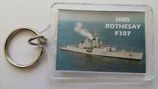 HMS ROTHESAY F107 ACRYLIC KEYRING
