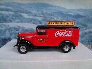 Matchbox  collectibles 1937 COCA COLA GMC van YPC02-M