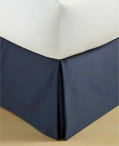NEW Hotel Collection Cubist Blue KING Bedskirt MSRP $150