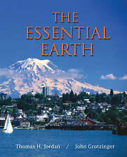 (Very Good)-The Essential Earth (Paperback)-Grotzinger, John,Jordan, Thomas H.-1