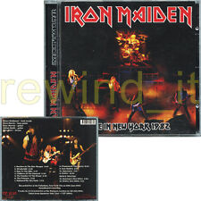 "IRON MAIDEN ""LIVE IN NEW YORK 1982"" RARE CD 2013 SPAIN"