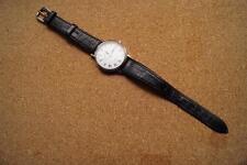 Orologio Donna con successivo con cinturino in pelle nera (LOT2)