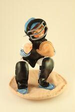"Mint 1993 Annalee Mobiliteee Toy Doll 10"" Baseball Player Catcher Boy #9946 +Bag"