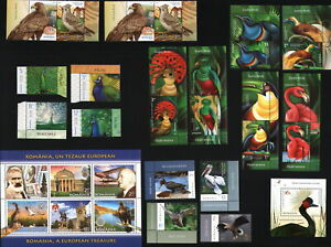 """MORE LOT WITH MORE FULL SET/ ROMANIA """"BIRDS"""" MNH"""