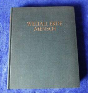 Weltall, Erde, Mensch - Jugendweihebuch DDR - 1960 Verlag Neues Leben DDR