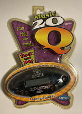 20 Questions Music Rock And Pop 20Q Handheld Electronic Game New Factory Sealed