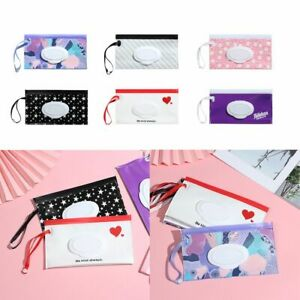 Carrying Case Wet Wipes Bag Stroller Accessories Tissue Box Cosmetic Pouch