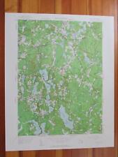 Hanover Massachusetts 1958 Original Vintage USGS Topo Map