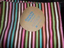 Pottery Barn Teen Striped sleeping bag pillowcase New
