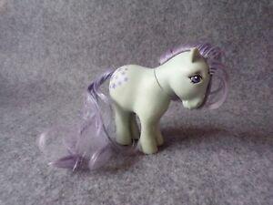 Vintage G1 My Little Pony Blue Belle Figure Doll, Hasbro MLP Generation 1