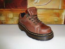DR MARTENS WOMENS 6/ US MENS 5/ US 4 UK BROWN LEATHER 4 Eye Lace SHOES 9861