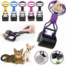 Dog Cat Pet Pooper Scooper Jaw Poop Scoop Clean Pick Up Waste Grabber Remover
