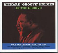 Richard 'Groove' Holmes - In The Groove (3CD 2015) NEW/SEALED