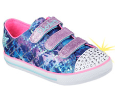 New Girl's Skechers Twinkle Toes: Chit Chat - Dazzle Days (10562L Size 11 (O2)