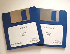Rare : SATAN jeu / game for ATARI ST / STE 520 - 1040 / MEGA ST