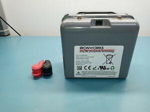 IRONWORKS 1240ST 12v 44.7ah 573Wh Lithium Iron Magnesium Phosphate Battery
