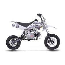 Pit bike 110cc ruote 10/12 accenzione a pedale 4 marce mini moto cross pitbike