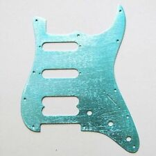EDEN Cyan Aluminum Pickguard SSH for American Standard Strat Guitar