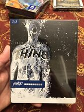 The Thing Blu ray Mondo Steelbook #008 OOP Very Rare Great condition!
