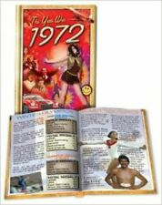 The Year Was 1972 - Hardcover Trivia Mini-Book by Flickback 46th Birthday Gift