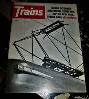 Trains Magazine July 1970 Issue
