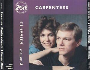 Carpenters - Classics, Vol. 2  (CD, Jan-1987, 2 Discs, A&M (USA))