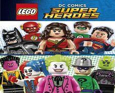 Genuine LEGO DC Minifigure SUPER HEROES AQUAMAN BATMAN SUPERMAN Villains