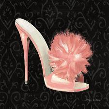 Marco Fabiano: Samantha's Boudoir I Fertig-Bild 30x30 Wandbild Mode Schuhe Heels