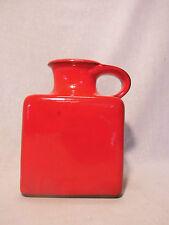 Gräflich Ortenburg 675/19 Vase Keramik red west german pottery design 60s 70s