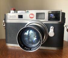Leica M9 Steel Grey Leitz M RF M6 M7 M8 M240 M10 SL S2 S3 Dallmeyer GFX