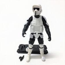 Star Wars SCOUT TROOPER SOLDAT RETURN OF THE JEDI 3.75'' hasbro figure & gun toy