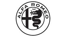 1 x Alfa Romeo Aufkleber für Motorhaube, Dach, Heckfscheibe usw. 22x22cm schwarz